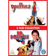 Produktbilde for Dr Dolittle 3/Dr Dolittle 4 - Tail To The Chief (UK-import) (DVD)