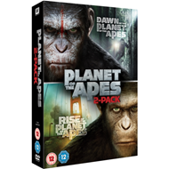 Produktbilde for Rise Of The Planet Of The Apes/Dawn Of The Planet Of The Apes (UK-import) (DVD)