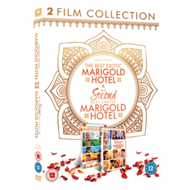 Best Exotic Marigold Hotel/The Second Best Exotic Marigold... (UK-import) (DVD)
