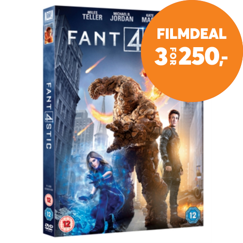 Fantastic Four (UK-import) (DVD)