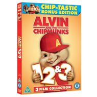 Alvin And The Chipmunks 1-3 (UK-import) (DVD)
