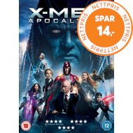 Produktbilde for X-Men: Apocalypse (UK-import) (DVD)