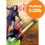 Produktbilde for Absolutely Fabulous: The Movie (UK-import) (DVD)