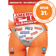 Produktbilde for American Pie: All 8 Pieces Of Pie (UK-import) (DVD)