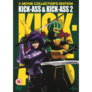 Produktbilde for Kick-Ass/Kick-Ass 2 (UK-import) (DVD)