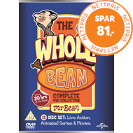 Produktbilde for Mr Bean: The Whole Bean - Complete Collection (UK-import) (DVD)