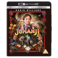 Produktbilde for Jumanji (UK-import) (4K Ultra HD + Blu-ray)