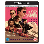 Baby Driver (UK-import) (4K Ultra HD + Blu-ray)