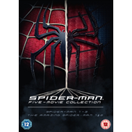 Spider-Man Complete Five Film Collection (UK-import) (DVD)