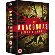 Produktbilde for Anaconda 1-4 (UK-import) (DVD)