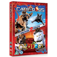 Produktbilde for Cats And Dogs/Cats And Dogs: The Revenge Of Kitty Galore (UK-import) (DVD)