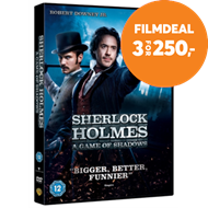 Produktbilde for Sherlock Holmes: A Game Of Shadows (UK-import) (DVD)