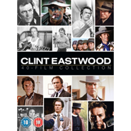 Clint Eastwood 40-Film Collection (UK-import) (DVD)