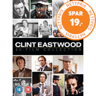 Produktbilde for Clint Eastwood 40-Film Collection (UK-import) (DVD)