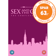 Produktbilde for Sex And The City: The Complete Series (UK-import) (DVD)