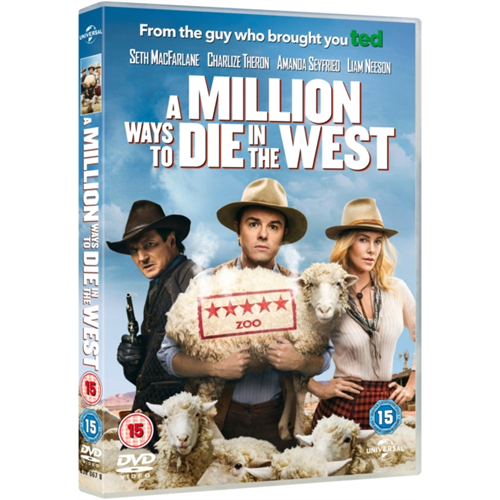 A Million Ways to Die in the West (UK-import) (DVD)