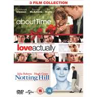 Produktbilde for About Time/Love Actually/Notting Hill (UK-import) (DVD)
