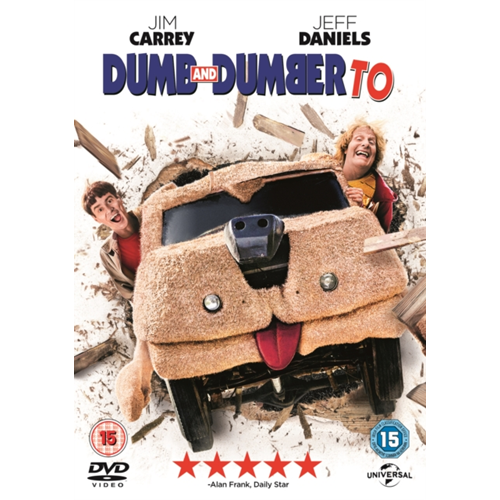 Dumb And Dumber To (UK-import) (DVD)