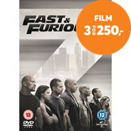Produktbilde for Fast & Furious 7 (UK-import) (DVD)