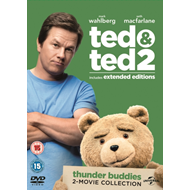 Ted/Ted 2 (UK-import) (DVD)