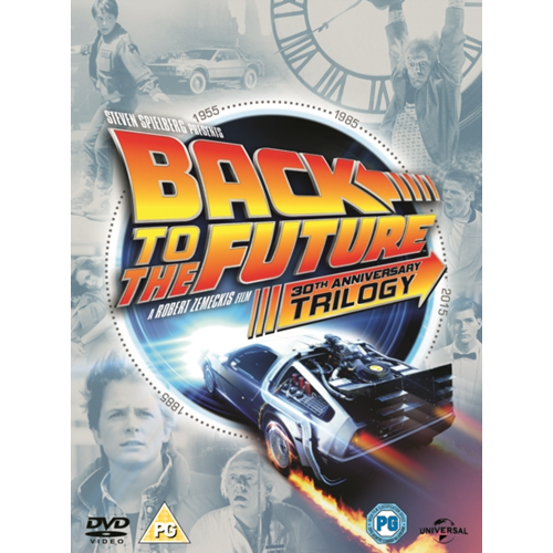 Back To The Future Trilogy (UK-import) (DVD)