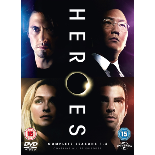 Heroes: The Complete Collection (UK-import) (DVD)