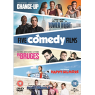 Produktbilde for The Change-up/Tower Heist/Happy Gilmore/In Bruges/Role Models (UK-import) (DVD)