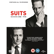 Produktbilde for Suits: Seasons One - Five (UK-import) (DVD)
