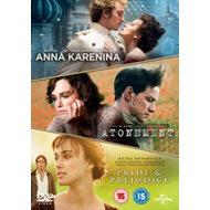Produktbilde for Anna Karenina/Atonement/Pride And Prejudice (UK-import) (DVD)