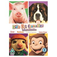 Produktbilde for Kids' Favourite Pets Collection (UK-import) (DVD)