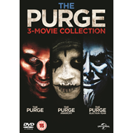 Produktbilde for The Purge: 3-movie Collection (UK-import) (DVD)