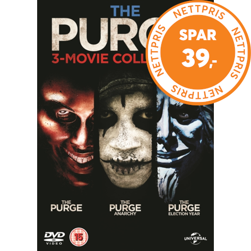 The Purge: 3-movie Collection (UK-import) (DVD)