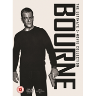 Produktbilde for Bourne: The Ultimate 5-Movie Collection (UK-import) (DVD)