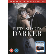 Fifty Shades Darker - The Unmasked Extended Edition (UK-import) (DVD)