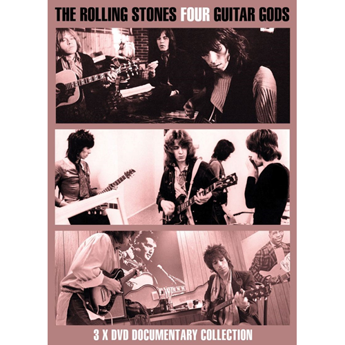 The Rolling Stones - Four Guitar Gods (DVD)
