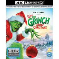Produktbilde for The Grinch (UK-import) (4K Ultra HD + Blu-ray)