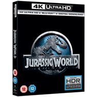 Jurassic World (UK-import) (4K Ultra HD + Blu-ray)