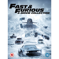 Fast & Furious: 8-Movie Collection (UK-import) (DVD)