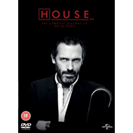House: The Complete Seasons 1-8 (UK-import) (DVD)