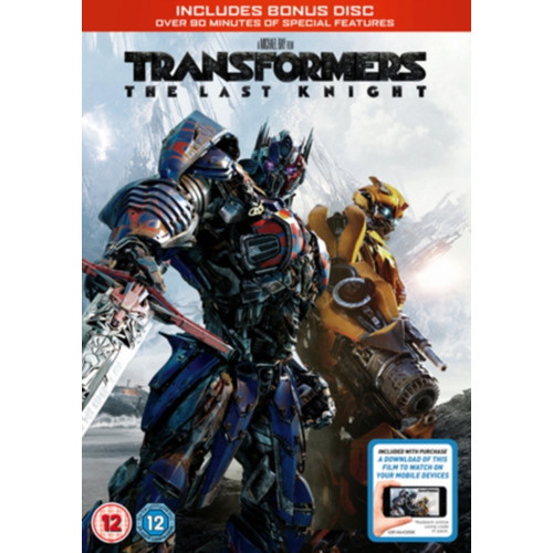 Transformers - The Last Knight (UK-import) (DVD)