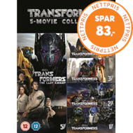 Produktbilde for Transformers: 5-Movie Collection (UK-import) (DVD)