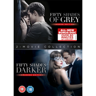 Fifty Shades: 2-Movie Collection (UK-import) (DVD)