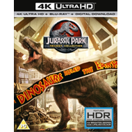 Produktbilde for Jurassic Park: Trilogy Collection (UK-import) (4K Ultra HD + Blu-ray)