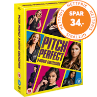 Produktbilde for Pitch Perfect Trilogy (UK-import) (DVD)