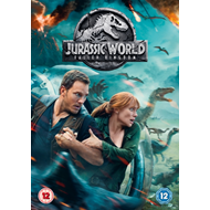 Jurassic World - Fallen Kingdom (UK-import) (DVD)