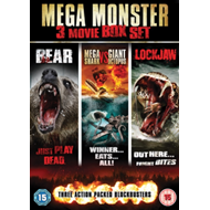 Mega Monster Box Set (UK-import) (DVD)