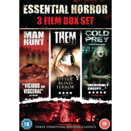 Produktbilde for Them/Manhunt/Cold Prey (UK-import) (DVD)