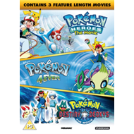 Pokémon - Triple Movie Collection (UK-import) (DVD)