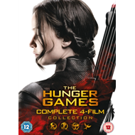 Hunger Games: Complete 4-Film Collection (UK-import) (DVD)