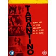Produktbilde for Quentin Tarantino Collection (UK-import) (DVD)
